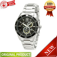 Citizen VO10-6742F ALTERNA Eco-Drive Chronograph Watch 100% Genuine JAPAN