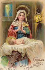 "CHRISTMAS : ""God Bless your Christmastide'The Holy Child -SCHWERDTFEGER"