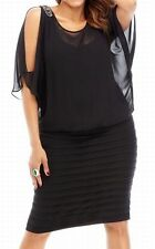 R&M Richards New Plus Size Embellished Blouson Dress Size 14W MSRP $109 #DN 1073