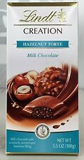 Lindt Creation Hazelnut Torte Milk Chocolate Bar 3.5 oz
