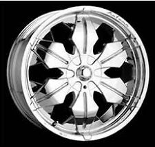 Katana Icon Wheel 22x9.5 Chrome New (1) 6x135/ 6x139.7 bolt pattern +35 et