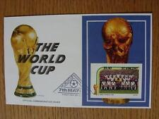 07/05/1986 World Cup Postal Cover: CC 1045 - The World Cup & Trophy - Stamp: Eng