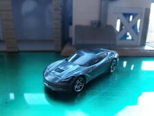 HOT WHEELS 2014 CORVETTE STINGRAY - METALLIC GREY - APPROX.1:64 DIECAST