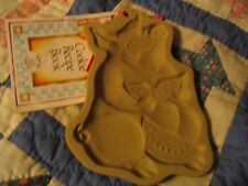 Brown Bag Cookie Mold PIG 1992 second w/recipe book L@@K