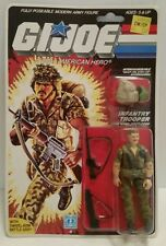 GI JOE FOOTLOOSE INFANTRY TROOPER 1985 HASBRO VINTAGE *SEALED* IN ORIGINAL PKG