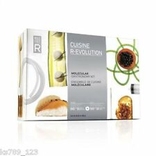 Cocina Molecular Cuisine R-evolution Kit Bar Molecule-r Culinaria Kit + Dvd