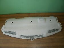 02-08 JAGUAR X-TYPE REAR SEAT BACK GLASS SPEAKER DECK VENT COVER