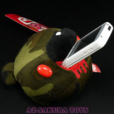 """GLOOMY BEAR Plush Doll Mobile Stand Holder Military Camouflage Camo 14cm/5.5"""""""