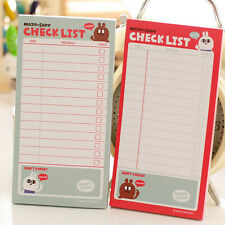 list To Do List Planner Stickers Paper Sticky Notes Stationery Office Supplies H