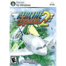 AIRLINE TYCOON 2  Win 7 Vista XP  Brand New  Run a Modern Airline  PC Simulation