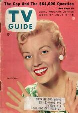 1955 TV Guide July 9 - Patti Page-Claremore OK; Desi Arnaz;Buster Crabbe;$64,000