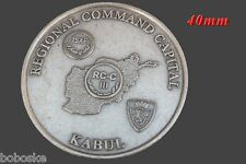Médaille Régional Command Capital Kabul Afghanistan