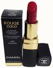 Chanel Rouge Coco Lipstick Ultra Hydrating Lip Colour 452 Emilienne 0.12oz.