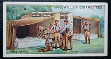 British Army Motor Baths     World War 1     Vintage 1916 Card  VGC