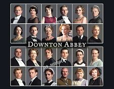 DOWNTON ABBEY Cast - Souvenir Fridge Magnet