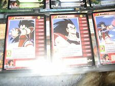 Raditz #1 , Raditz #2 and Raditz #3 170, 171, & 172 also Raditz Total Defense 47