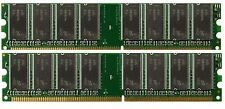 2GB 2 X 1GB Genuine Dell Dimension 1100 2400 3000 4600 8300 B110 PC3200 Memory