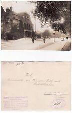 Kiel, Partie am Stadttheater Gross Foto (12,1 cm x 17,13cm) 1925