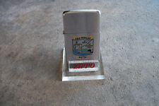 RARE  circa 1940 Zippo Lighter lucite display stand factory item