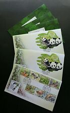 Malaysia 7 Wonders Of Flora & Fauna 2016 Panda Bird Fish (FDC 3's) *odd *unusual