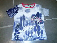 tee-shirt  fille   ***CATMINI*** Spirit City 2014 (Blue Hollidays)  -  3 / 4 ans
