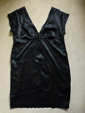 SEE BY CHLOE Ladies 100% Silk Black Dress Size IT 44/UK 12