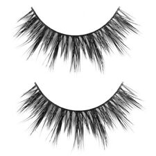 2 Pair Handmade Natural Mink Hair Thick Fake Lashes Eyelashes False Makeup Eye