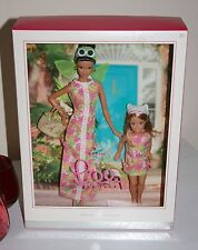 Mattel Barbie Doll Lilly Pulitzer And Stacie Gift Set Silver Label NRFB
