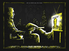 Taxi Driver Poster - Zeb Love - Artist Proof - Limited Edition