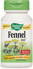 Fennel Seed - 100 Capsules - Nature's Way
