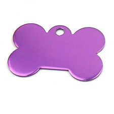 Bone Shape Engraved Pet Tags Dog/Cat Name Identity ID Disc Animal Tags KA13
