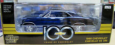 1/18 Die Cast 1966' Chevrolet Chevelle SS 396 (Metallic Blue)