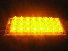 12V Yellow LED Lamp 24 Piranha LED Lights Mobile Panel Lighting Board
