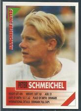 PANINI SUPERPLAYERS 1996 #163-MANCHESTER UNITED & DENMARK-PETER SCHMEICHEL