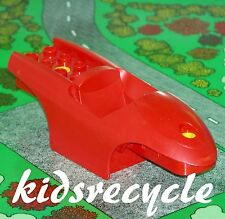 Lego DUPLO Toolo ACTION WHEELER Part RACER BODY BASE Large RED (31235)