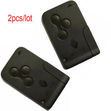 2pcs for Renault Megane smart card 3 button with key blade 434Mhz ID46 chip