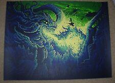 DAN MUMFORD art poster print HAIL DESTROYER silkscreen