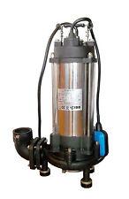 IBO Heavy Duty 1.8KW ULTIMATE GRINDER Power Submersible Sewage Dirty WATER PUMP