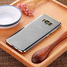 Transparent Crystal Clear Case For Samsung S8 S7 + Case Gel TPU Soft Cover Skin