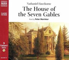 Nathaniel Hawthorne THe House of the Seven Gables audio book CD NEW 3-discs