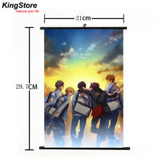 Japan Anime Free! Iwatobi Swim Club Home Decor Poster Wall Scroll 21*30 cm 2 New