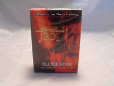 STAR WARS YOUNG JEDI CCG MENACE OF DARTH MAUL STARTER DECK