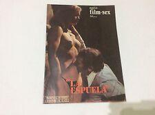 NUEVO FILM SEX, CLAUDIA GRAVI, PILAR MUÑOZ  Magazine vintage Spanish YEARS 70