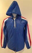 Rare VTG Izod Lacoste Colorblock Windbreaker Hood Nylon Jacket Mens Sz S