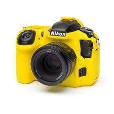 easyCover camera case protezione in silicone per Nikon D500 Gialla/Yellow