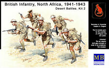 BRITISH/COMMONWEALTH INFANTRY (DESERT RATS) - NORTH AFRICA #3580 1/35 MASTERBOX