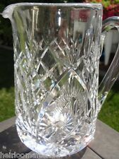 Gorgeous Vintage WATERFORD Crystal 32 oz Pitcher SHANNON JUBILEE