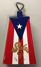Timbale Cowbell with Puerto Rico Flag Design -Salsa CP#2