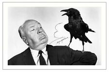 ALFRED HITCHCOCK THE BIRDS AUTOGRAPH SIGNED PHOTO PRINT POSTER