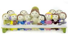 THE LAST SUPPER Ornament Featuring Chlidren as Jesus & The Disciples NEW & BOXED